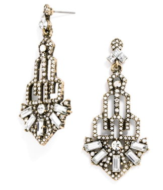 Jewel tones. I love these for an evening out. Perfect for wedding season. Baublebar,https://www.baublebar.com/product/25834-garbo-drops.html