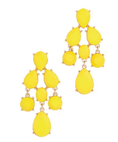 I love a pop of yellow for summer. Aldo,http://www.aldoshoes.com/us/en_US/accessories/women%27s/earrings/c/3111/ZIGODE/p/46855012-67#